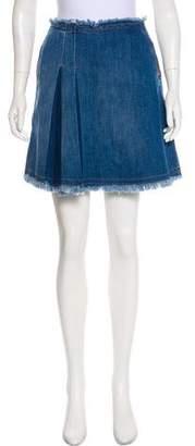 See by Chloe Mini Denim Skirt