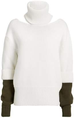 Monse Double Cuff Slashed Sweater