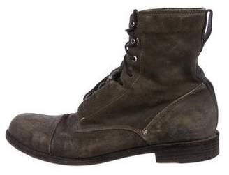Rag & Bone Cap-Toe Combat Boots