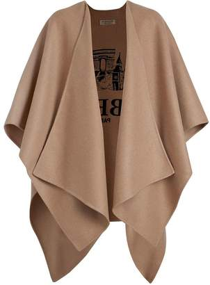 Burberry Embroidered Skyline Cashmere Poncho