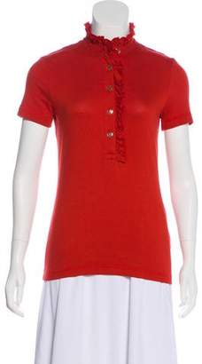 Tory Burch Knit Short Sleeve Top