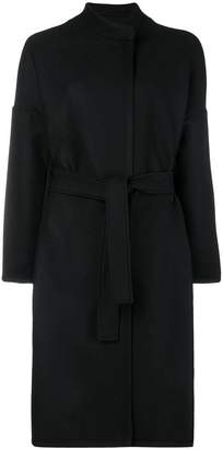 Pinko belted single breasted coat