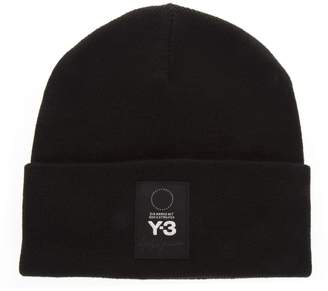 Y-3 Y 3 Black Lapel Hat In Wool
