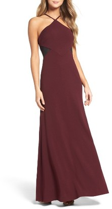 Women's Vera Wang Stretch Bias Cut Gown $298 thestylecure.com