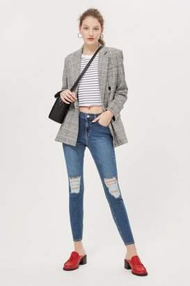Topshop Petite Ripped Jamie Jeans