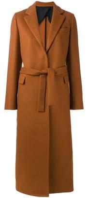 Msgm Women's Beige Wool Coat.