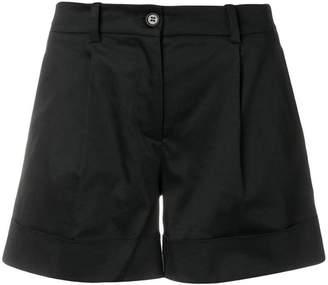 P.A.R.O.S.H. side stripe cuff shorts