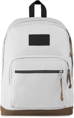 JanSport LS Destination Suede-Trimmed Logo Backpack