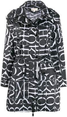 MICHAEL Michael Kors all over logo trench coat