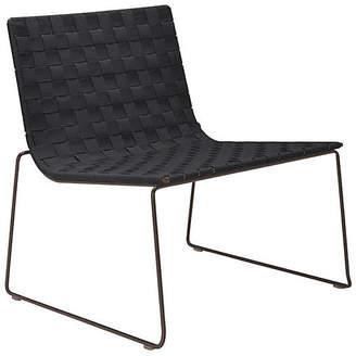 Janus et Cie Trenza Accent Chair - Earth/Graphite