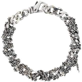 Emanuele Bicocchi woven chain bracelet