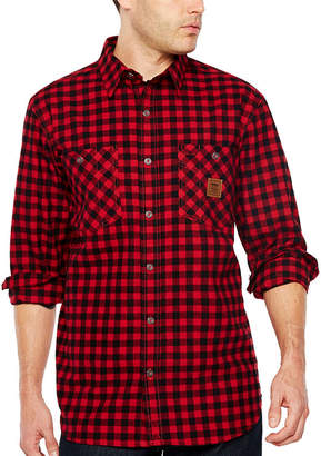 Walls Thurber Vintage Men's Long Sleeve Flannel Shirt