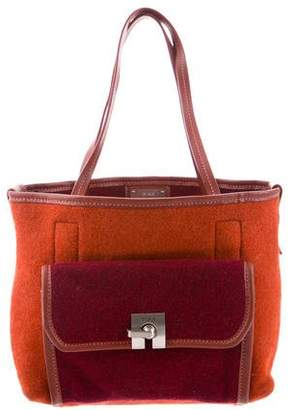 Tumi Small Wool Handle Bag