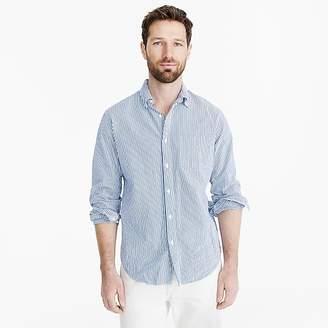 Seersucker shirt in classic stripe $69.50 thestylecure.com