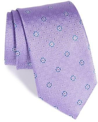 CanaliMen's Canali Medallion Silk Tie