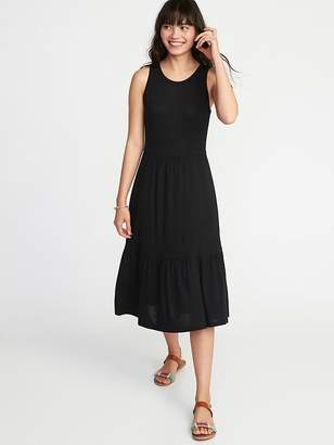 Old Navy Sleeveless Ruffle-Hem Jersey Dress for Women