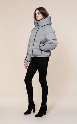 Soia & Kyo BRINEY water-repellent sporty down bomber jacket with hood