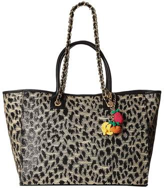 Betsey Johnson The Mighty Jungle Large Tote Tote Handbags
