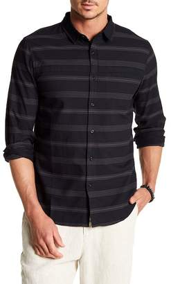 Tavik Long Sleeve Stripe Print Regular Fit Woven Shirt