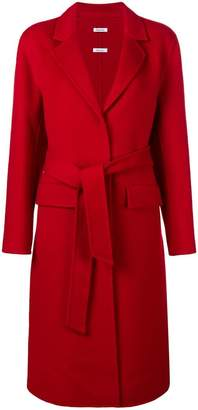 P.A.R.O.S.H. belted trench coat