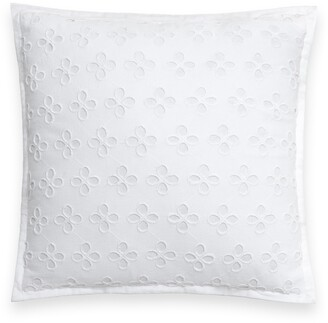 Kate Spade (ケイト スペード ニューヨーク) - Kate Spade New York Eyelet Lace Accent Pillow