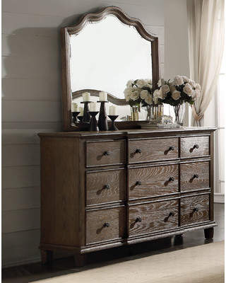 ACME Furniture Baudouin 9 Drawer Dresser with Mirror