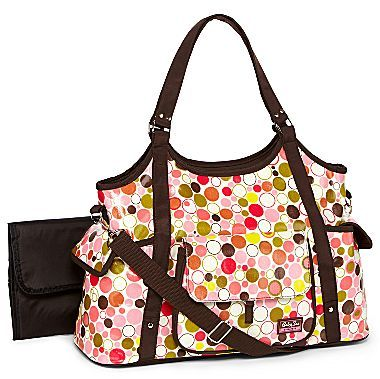 JCPenney Baby Sac Bubbles Diaper Bag