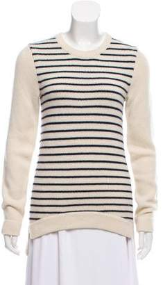 Derek Lam Striped Cashmere Sweater