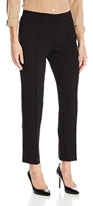 Jones New York Women's Textured Crepe Pintuck Skinny Pant $79.50 thestylecure.com