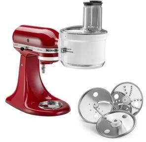 KitchenAid Three-Piece Food Processor Attachment Set - Model KSM1FPA