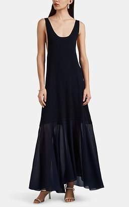 Jil Sander Women's Rib-Knit Tank Dress - Navy
