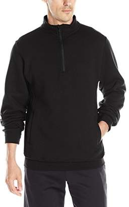 Russell Athletic Men's Dri-Power Fleece Quarter-Zip Cadet Sweatshirt