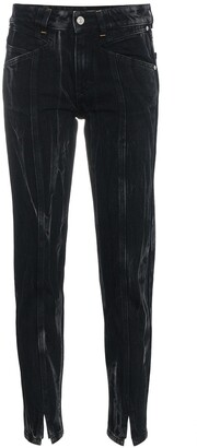 Givenchy marble slim fit jeans