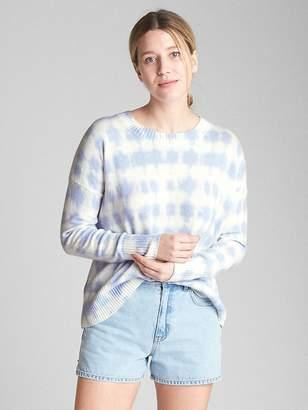 Gap Print Crewneck Sweater