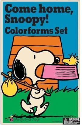 Kahootz Colorforms(R) Classic Re-Stickable Sticker Set-Come Home Snoopy