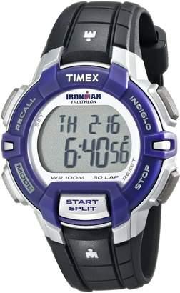 Timex Women's T5K8129J Ironman Rugged 30 Digital Display Quartz Black Watch