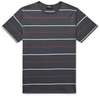 A.P.C. Jimmy Striped Cotton-Jersey T-Shirt