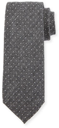 TOM FORD Dot Wool Tie $250 thestylecure.com