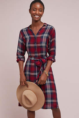 Velvet by Graham & Spencer Tilda Plaid Shirtdress
