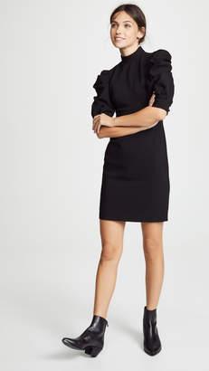 Alice + Olivia Brenna Puff Sleeve Dress