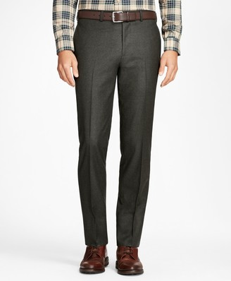 Brooks Brothers Regent Fit Stretch Flannel Trousers