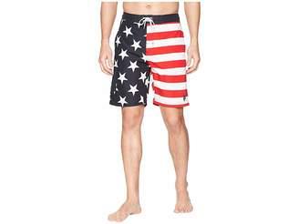 U.S. Polo Assn. 9 American Flag Swim Shorts Men's Swimwear