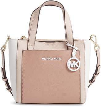 6034c53eb8b116 MICHAEL Michael Kors Small Gemma Colorblock Leather Crossbody Bag