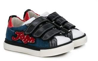 John Galliano denim sneakers