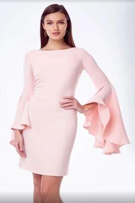 Alberto Makali Ruffle Sleeve Dress