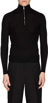 Prada Men's Mock-Turtleneck Wool Sweater