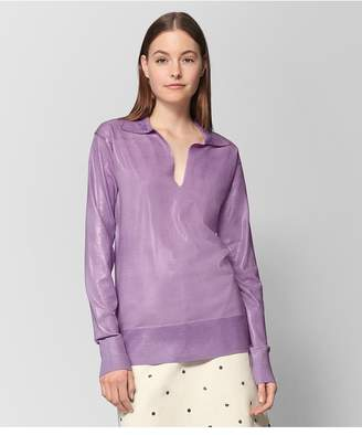 Bottega Veneta Lilac Wool Sweater