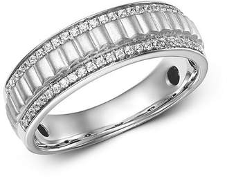 Bloomingdale's Diamond Men's Band Ring in 14K White Gold, 0.20 ct. t.w. - 100% Exclusive