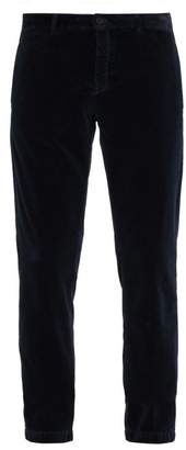 Massimo Alba Velvet Trousers - Mens - Navy