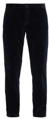 Massimo Alba - Velvet Trousers - Mens - Navy